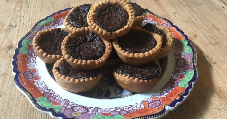 Chocolate Tart – Hannah Glasse's way.