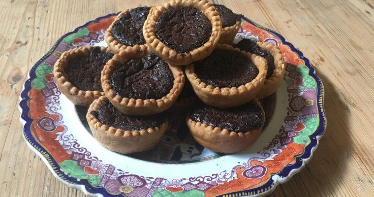 Chocolate Tart – Hannah Glasse's way.
