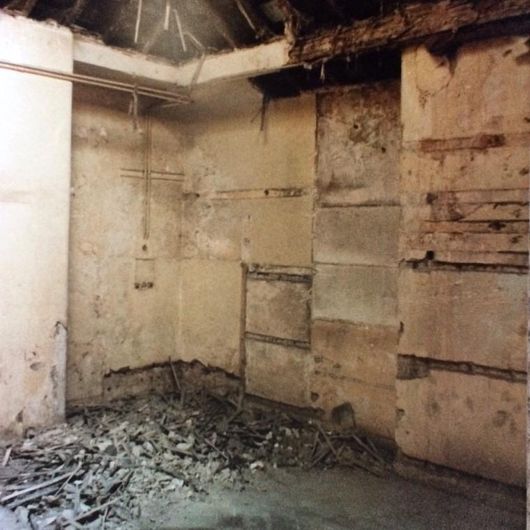 A derelict Regency kitchen